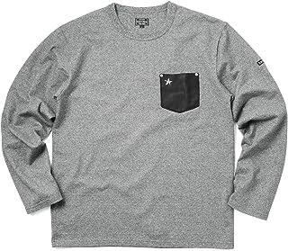 Schott ショット 3173078 LEATHER POCKET ONE STAR Tシャツ【クーポン対象外】