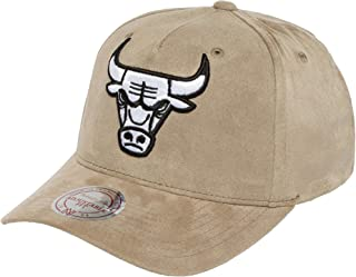 mitchell and ness curved snapback