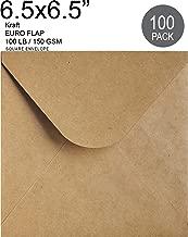 Best 6 1/2 x 6 1/2 square envelopes Reviews