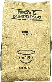 Note D'Espresso Oro di Napoli, Capsule per caffè, compatibili con macchine Dolce Gusto, 7 g x 96