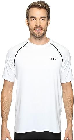 TYR Short Sleeve Rashguard