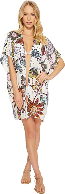 Wildflower Open Front Cover-Up