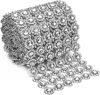 Silver Diamond Flower Shape 4