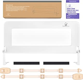 Toddler Bed Rail Guard for Kids Twin, Double, Full Size Queen & King Mattress –..
