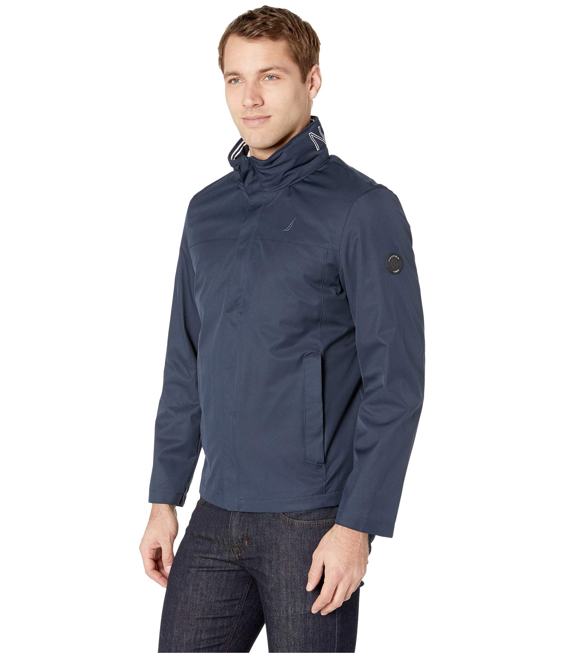 Bomber Anchor Nautica Jacket True New Navy wzqESq81