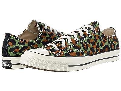 Converse Chuck 70 OX (Olive/Egret/Black) Athletic Shoes