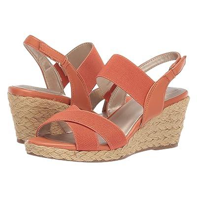 Bandolino Hearsay Espadrille Sandal (Tangerine) Women