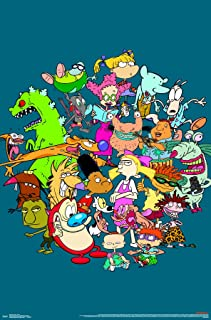 Trends International Nick Toons - Group Wall Poster, 22.375