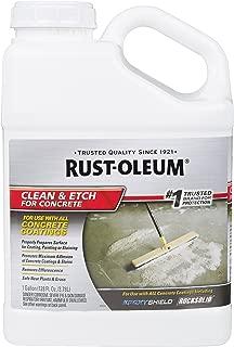 rustoleum garage floor cleaner