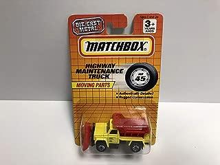 Highway Maintenance Truck 1994 Matchbox 1/64 scale diecast MB45