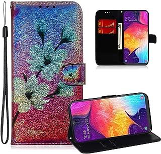 ISADENSER 三星 A50 手机壳 Galaxy A50 手机壳 A] ShineTX-FlipCase-6
