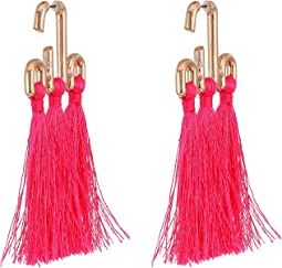 Neon Pink Tassel