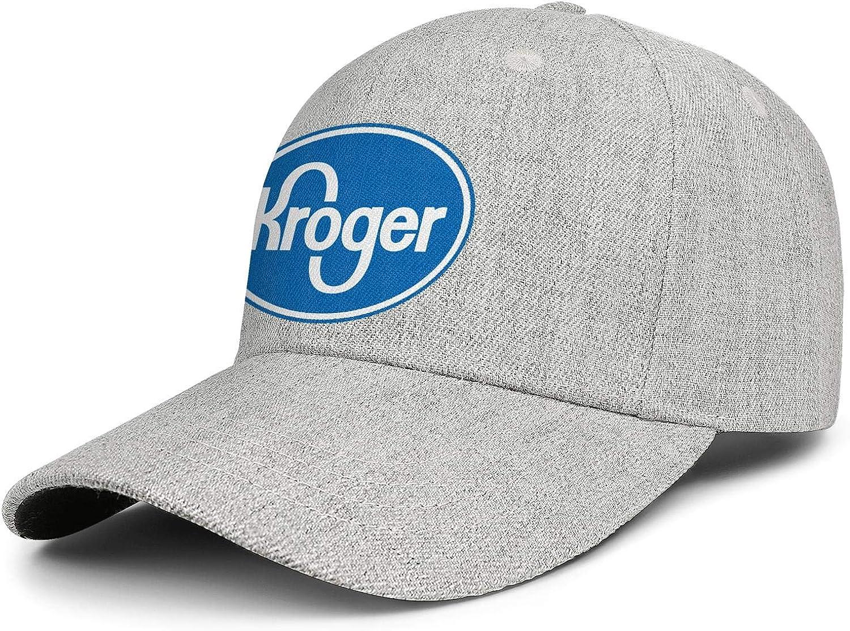 Unisex Baseball Cap Low Key Adult Logo-Kroger- Adjustable Trucker Hat Sun Hat : Clothing, Shoes & Jewelry