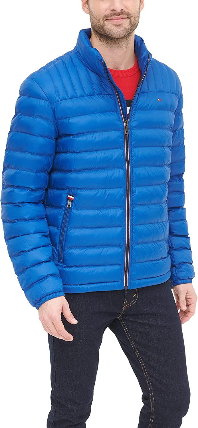 Tommy Hilfiger Men's Real Down Insulated Packable Puffer Jacket