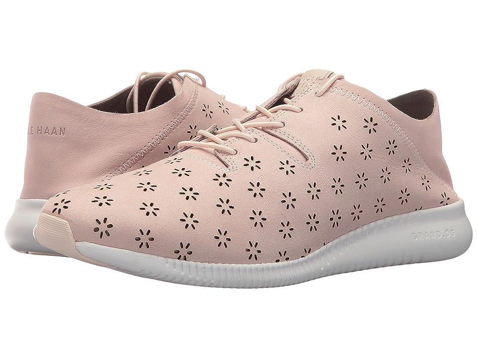 Cole Haan Studiogrand PG Sneaker (Peach Blush Perfed Nubuck/Optic White) Women
