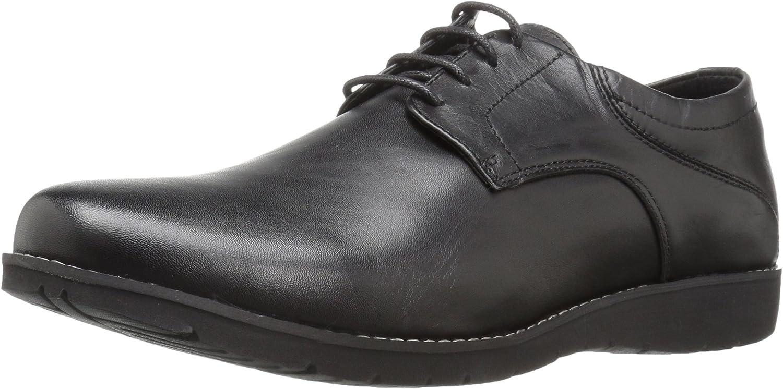 Propet Men's Grisham Oxford, Black, 11 X-Wide