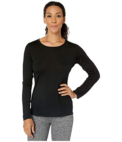 Pendleton Long Sleeve Merino Tee (Black) Women