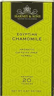 Harney & Sons Herbal Tea, Egyptian Chamomile, 20 Tea Bags