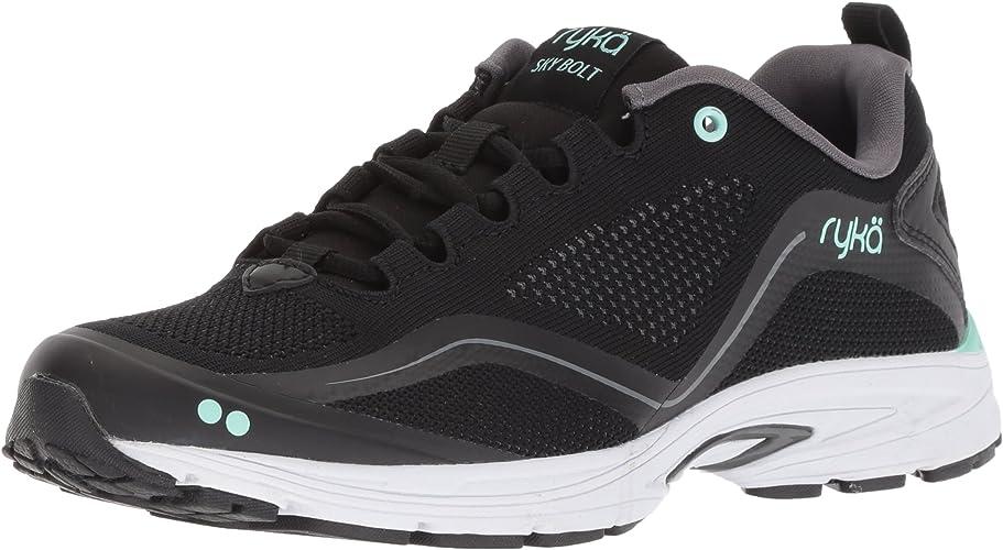 Ryka Wohommes Sky Bolt en marchant chaussures, noir gris Mint, 9.5 W US