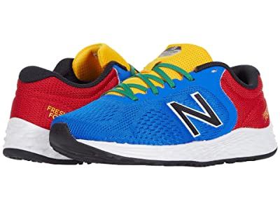 New Balance Kids Fresh Foam Arishi v2 (Little Kid/Big Kid) (Cobalt/Team Red 2) Boy