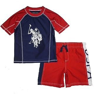 Boys' 2-Piece Swimsuit Trunk and Rashguard