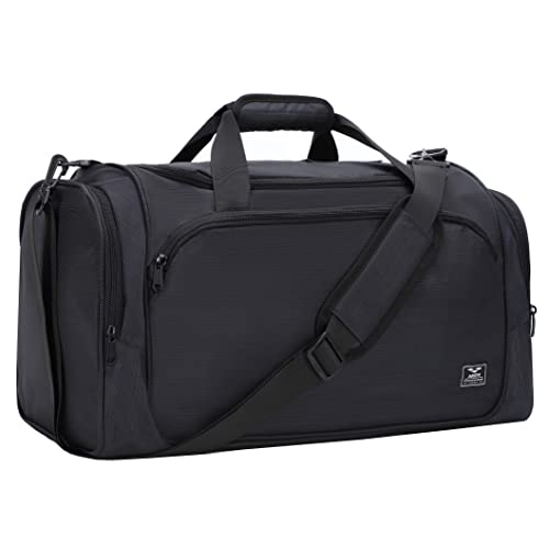 c798466e0e1142 MIER Gym Bag with Wet Pocket Sports Duffel Holdall for Men and Women, 40L,
