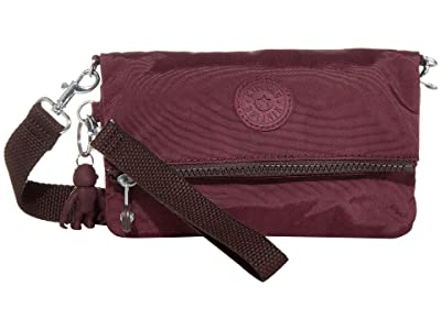 Kipling Lynne Convertible Crossbody Bag (Dark Plum) Handbags