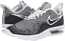 size 40 363f3 cc937 Black Black White. 260. Nike. Air Max Sequent 4
