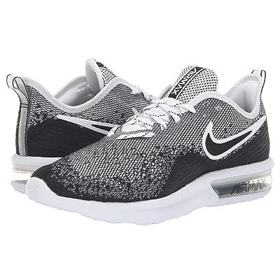 Nike Air Max Sequent 4 (Black/Black/White) Women