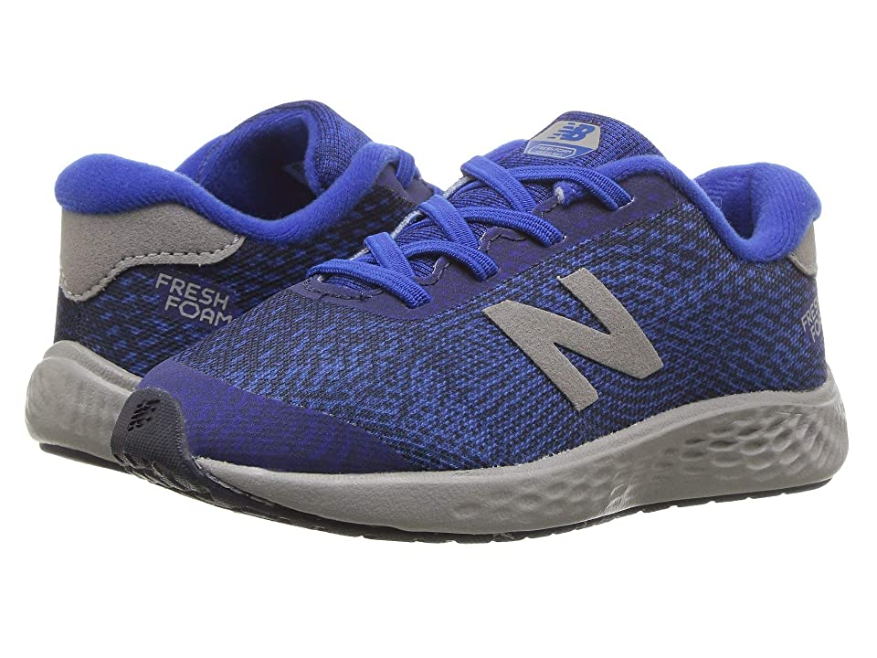 New Balance Kids KVARNv1I (Infant/Toddler) (Team Royal/Marblehead) Boys Shoes