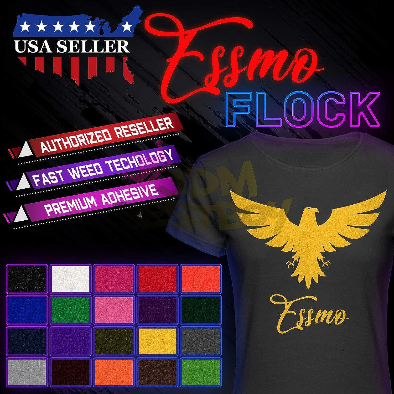 JD-ESSMO Army Green Flock Heat OFFicial T-Shirt Cheap sale Vinyl Sheet Transfer HTV