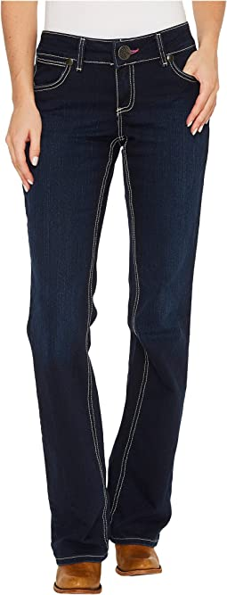 Wrangler - Western Booty Up Low Rise Jeans