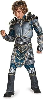 Lothar Classic Muscle Warcraft Legendary Costume, Large/10-12