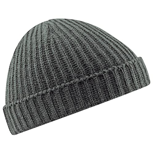 87f0196189810 SMG Unisex Retro Ribbed Fisherman Trawler Winter Beanie Hat