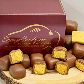 Chocolate Sponge Candy (Milk Chocolate) - from the Sponge Candy Capital of the World, Buffalo New York!