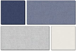 """ADW Acoustic Panels 73"""" X 49"""" X 1"""" Mondrian Kit – Quick Easy DIY Install - Various Color Combos"""