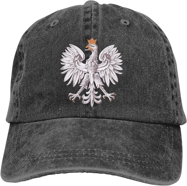 NC Poland Polska Trucks Cotton Hat Cowboy Hat Baseball Caps Black