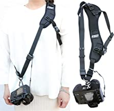 Fotasy Ergonomic Design Camera Sling Strap, Adjustable Camera Neck Strap, w/Quick Release..