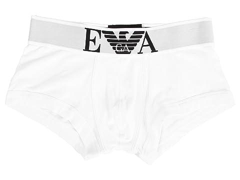 Emporio Armani Stretch Cotton Wide Waistband Trunk