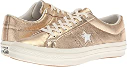 One Star Heavy Metallic Leather Ox