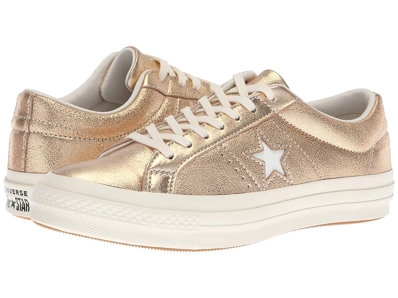 Converse One Star Heavy Metallic Leather OxAtmospheric grades have affordable shoes
