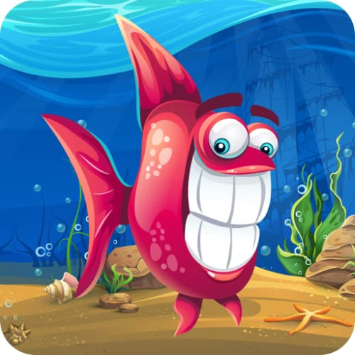 Kids Ocean Fish Memory Game - Addictive, inspiring and mind improving and learning adventure game for babies, boys, girls and preschool toddlers under ages 2, 3, 4, 5 years old - Freetime Edition
