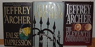 A Prisoner of Birth/False Impression/the Eleventh Commandment by Jeffrey Acher (3 Books)