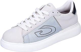 GUARDIANI Sneaker Donna Pelle Nubuck Bianco