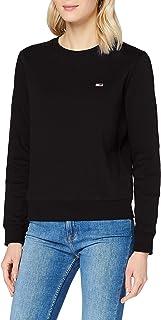 Tommy Jeans Tjw Regular Fleece C Neck Maglione Donna