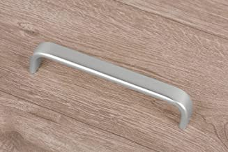 Gedotec Moderne meubelgreep aluminium booggrepen zilver - VINO | stanggreep met boorafstand: 160 mm | Design beugelgreep a...