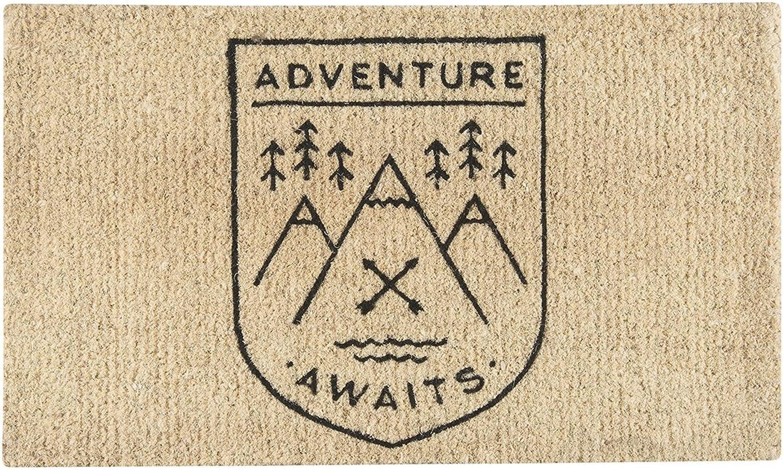 Danica Studio Doormat, Adventure Awaits