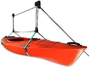 StoreYourBoard Kayak Ceiling Storage Hoist, Hi Lift Home and Garage Hanging Pulley Rack