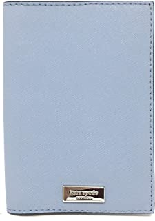 Kate Spade New York Laurel Way Leather Passport Holder (Blue Dawn)