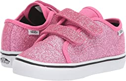 (Glitter) Azalea Pink/True White